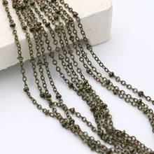 31375f7958b6 5 Metro planas O anillo Tail Extender cadenas para joyería hacer collar  pulsera Diy accesorios suministro al por mayor