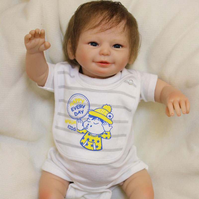 50cm lovely baby reborn doll toy the best birthday gift for kid child, high-end girl brinquedos silicone reborn babies boneca 55cm silicone reborn baby doll toy lifelike npkcollection baby reborn doll newborn boys babies doll high end gift for girl kid