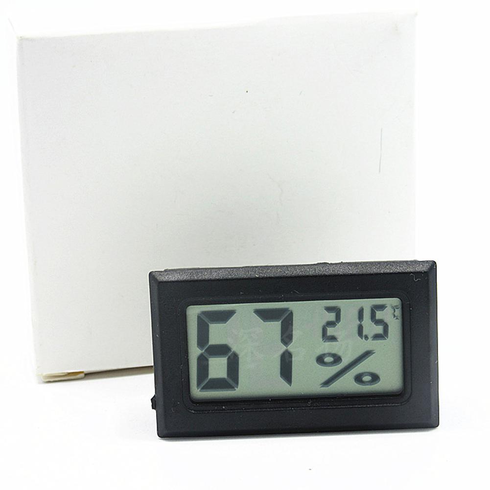 Image 2 - LanLan ミニ液晶デジタル温度計湿度計屋内ポータブル温度センサー湿度楽器    グループ上の ホーム