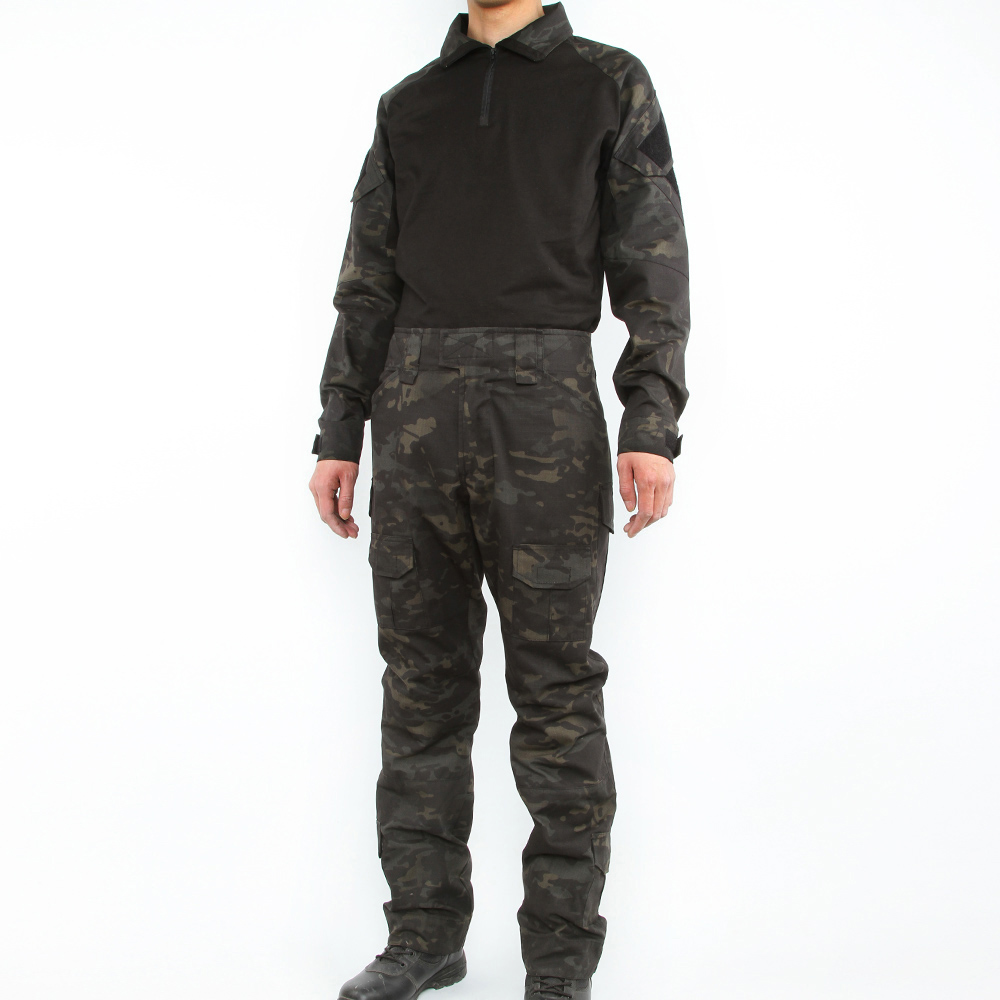 c029621906845 EXCELLENT ELITE SPANKER Military Camouflage Suit Tactical Assault Combat  Mens Set For Outdoor Army Hunting CS Sets-in Hunting Ghillie Suits from  Sports ...