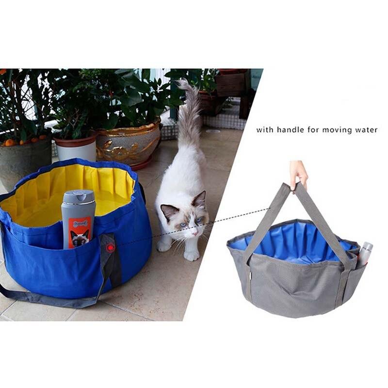 Aliexpress Com Buy Portable Dog Cat Pet Puppy Drinker: Aliexpress.com : Buy Small Pet Folding Bathtub Oxford