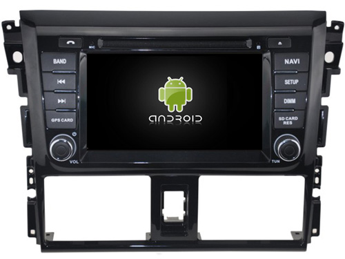 Android 9.0 CAR DVD player FOR TOYOTA YARIS 2014 car audio gps stereo head unit Multimedia navigation WIFI SWC BT