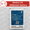 Bluboo X6 Battery High Quality 3000mAh Battery Backup Replacement for Bluboo X6 Smart Phone With Free Shipping