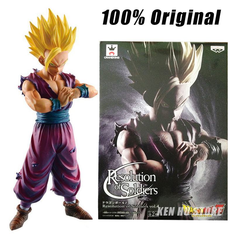 100%Original Dragon BZ Super Son Gohan ROS Resolution of Soldiers anime cartoon action toy figures model KEN HU STORE