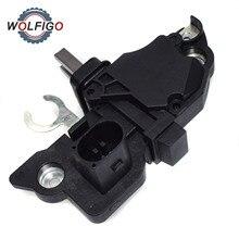WOLFIGO регулятор напряжения генератора для VW Beetle Jetta Golf AUDI LDV SEAT SKODA TATA F00M145261 F-00M-145-296 F00M145396