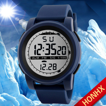 New Men Sports Watches Waterproof Outdoor Fun Multifunction Digital Watch Swimming Running LED Wristwatch Montre Homme