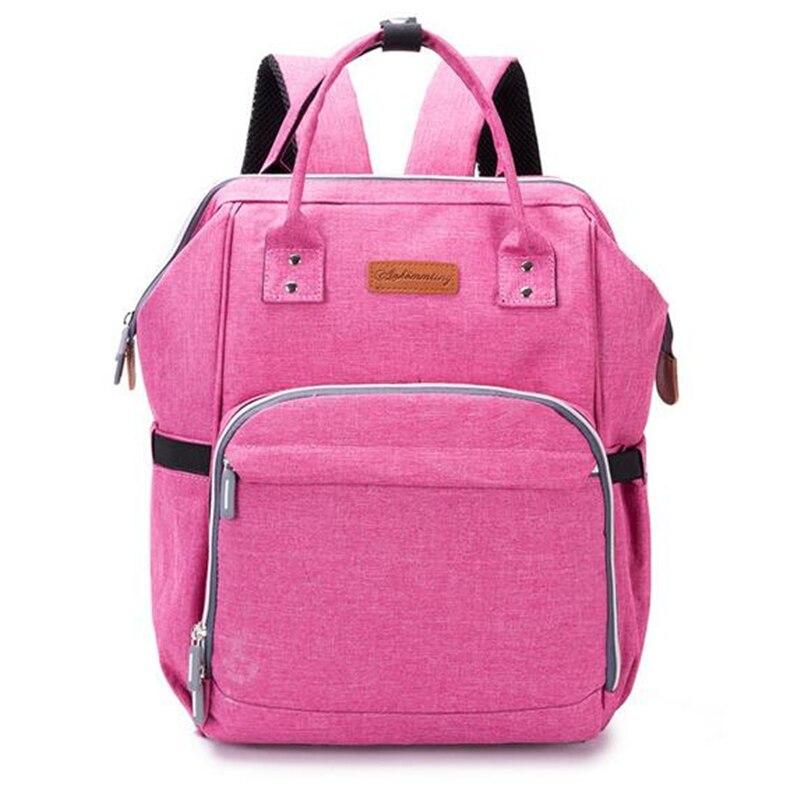 HTB1w 1ubjnuK1RkSmFPq6AuzFXap 23 Colors Fashion Mummy Maternity Nappy Bag Large Capacity Baby Diaper Bag Travel Backpack Designer Nursing Bag for Baby Care