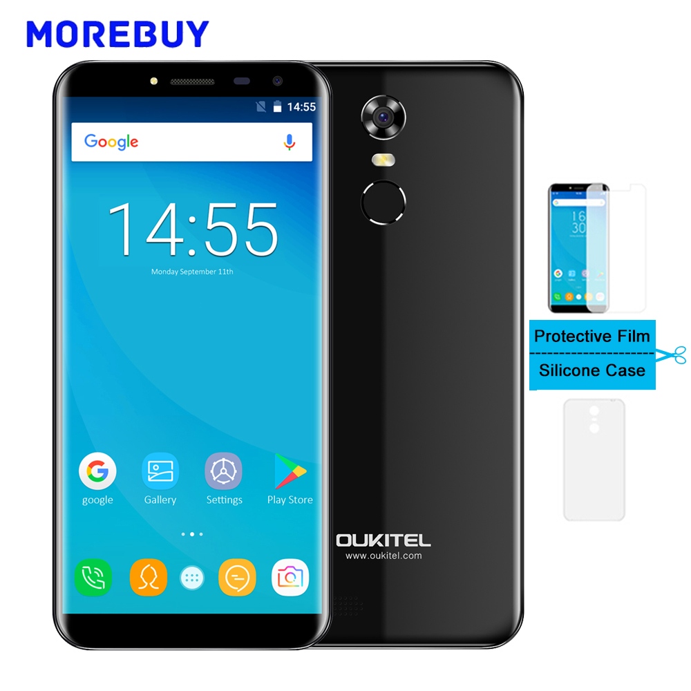 OUKITEL C8 Smartphone MT6580A Quad Core 2G RAM 16G RAM 5 5 HD 18 9 Android
