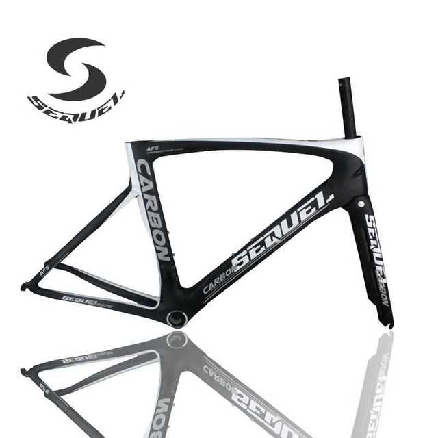 Carbon bike frame T1000 PF30 bottom bracket get an adapter gift road ...