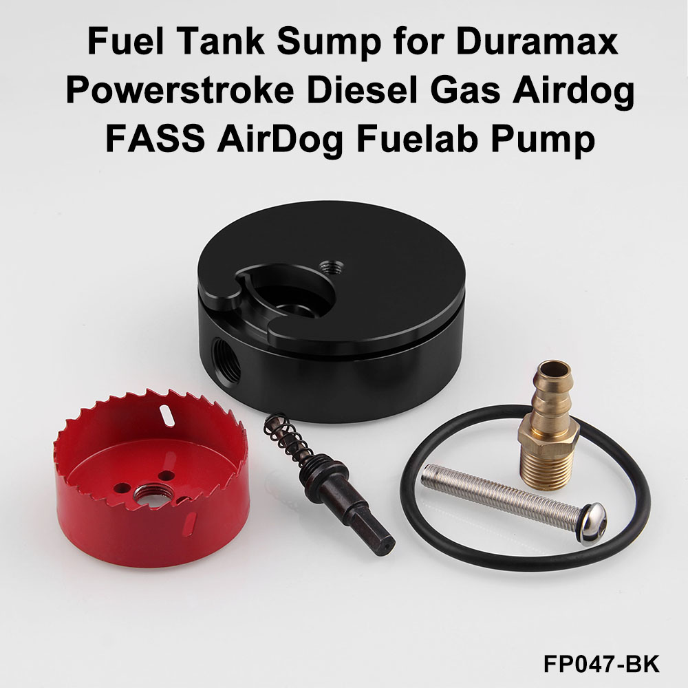 Car Fuel Tank Sump Fits For Duramax Powerstroke Diesel Gas Airdog Filters Fass Fuelab Pump 4 Color Fp047 In Pumps From Automobiles Motorcycles On