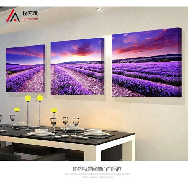 3 P Mooie Lavendel velden Woninginrichting decoratieve de ...