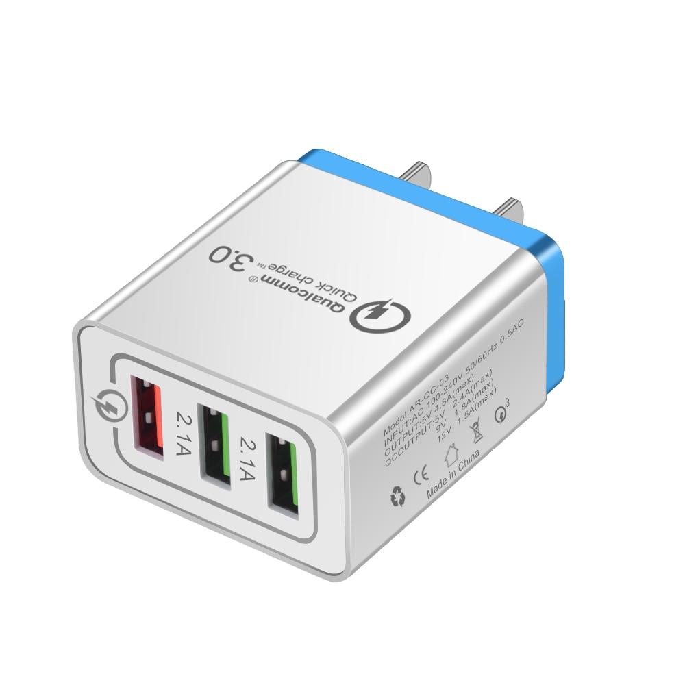 HTB1w 2Na6zuK1RjSspeq6ziHVXap - Universal 18 W USB Quick charge 3.0 5V 3A