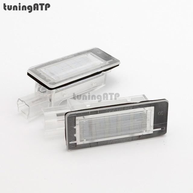 eclairage de plaque pour renault 4 Lampe éclairage de plaque du0027immatriculation LED pour RENAULT Modus-Grand  Modus-scénic