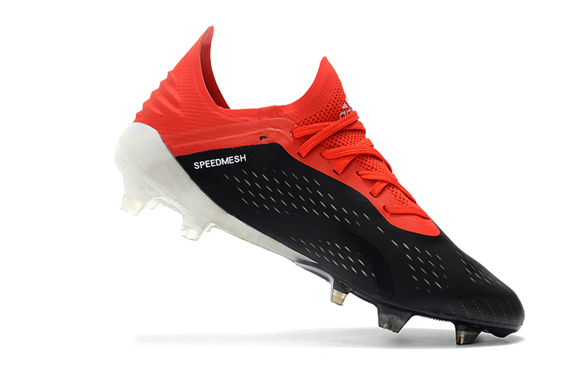 Pas cher ZUSA 18.1 FG Football bottes hommes haute ankel Football crampons femmes chaussures de Football ventes