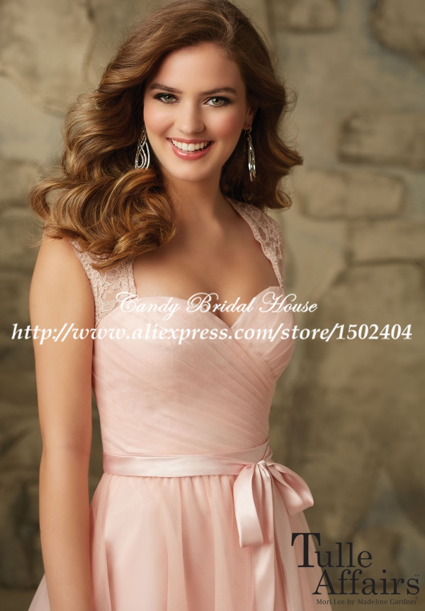 c3dd1bc41b83 Keyhole Back Sexy Modern Lace Cap Sleeve Pink Bridesmaid Dress Short  Wedding Guest Dresses with Sashes BD142-in Bridesmaid Dresses from Weddings    Events on ...