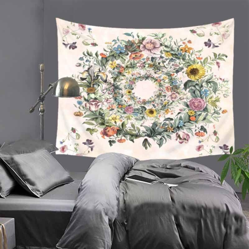 Mandala Wall Hanging Bohemian Bedspread Dorm Decor Throw Indian Tapestry Hippie