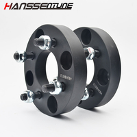 HANSSENTUNE 4PCS 4X114.3 to 4X100 Hubcentric 67.1mm nut 12*15 wheel spacer 25mm for most 4 Lug