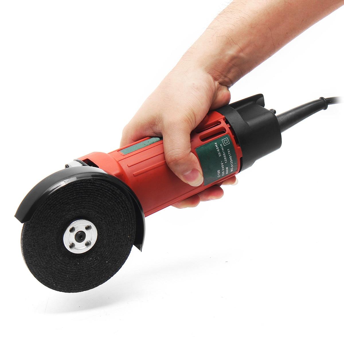 600 W AC220-240V outil de meuleuse d'angle de ménage multifonctionnel meuleuse d'angle électrique Machine de polissage outil de coupe de meulage en métal
