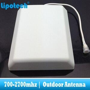 Image 5 - 8dbi 700 2700 Mhz 2G 3G 4G חיצוני פנל אנטנת GSM CDMA WCDMA UMTS משחזר אנטנה LTE בוסטרים/מגבר חיצוני אנטנה