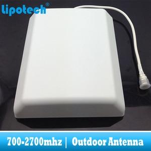 Image 5 - هوائي لوحة خارجية 8dbi 700 2700Mhz 2G 3G 4G GSM CDMA WCDMA UMTS مكرر هوائي LTE الداعم/مكبر للصوت هوائي خارجي
