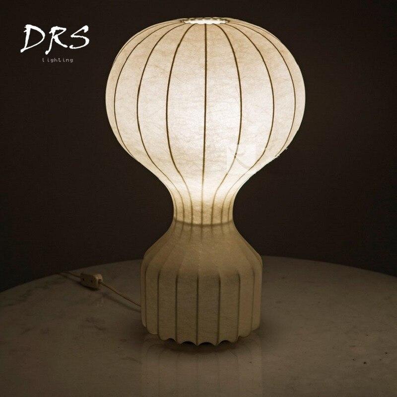 INS Creative Air chaud ballon soie lampe de bureau Simple moderne chambre lampe de chevet chaud romantique nordique personnalité soie lampe de Table