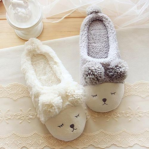 Women Autumn Winter Cute Sheep Fleece Soft Sole Warm Home Indoor Shoes Slippers Women Plush Slippers Indoor Shoes fashion fongimic comfortable women slippers women casual indoor plush shoes autumn winter warm fashion slippers hot sale flat slippers