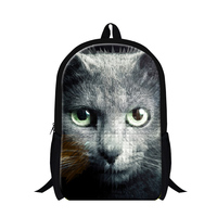 Polyester Elementary Student School Bag 3d School Bag Animal Picture Of School Bag 2015 New Design