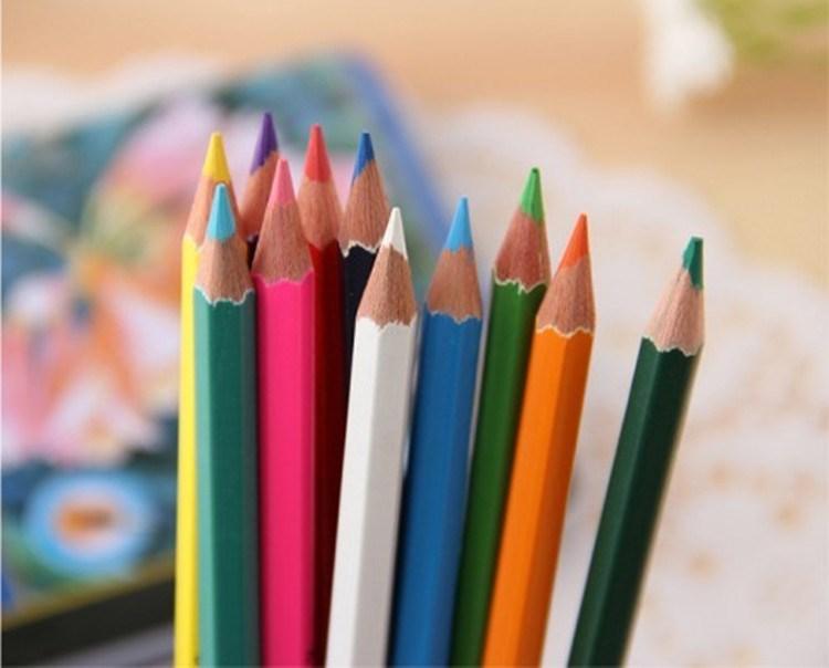 бесплатная доставка 48 цветной карандаш железный ящик с воды полу-растворимые цветной карандаш 48 цветов / комплект