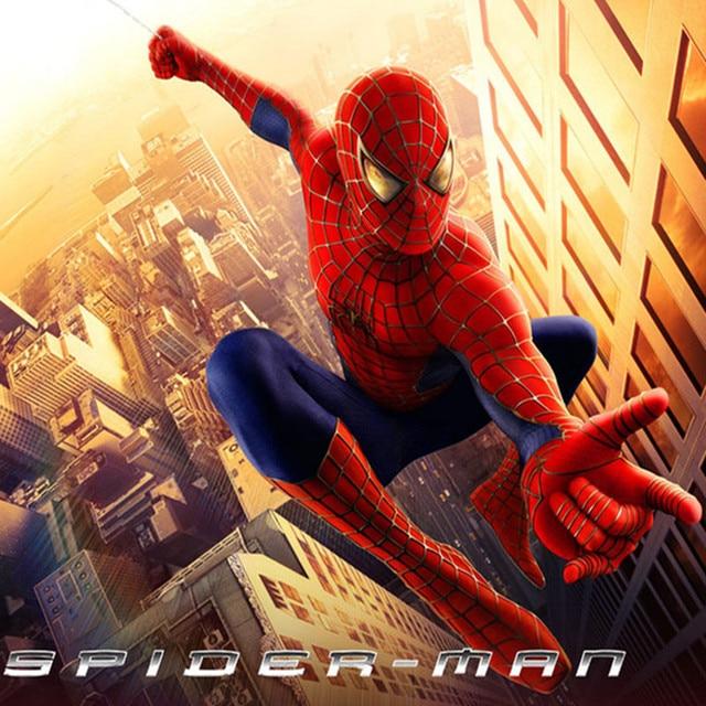 spider man armor suit costume sets kids christmas halloween cosplay