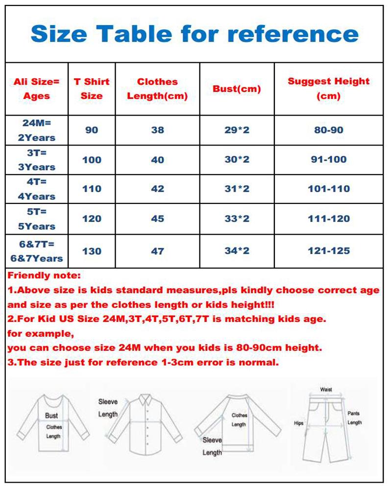 shirts184 SAILEROAD size table