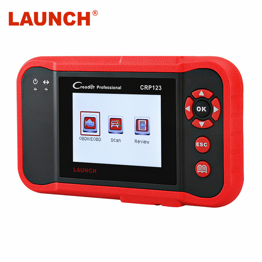 LAUNCH X431 OBD 2 Automotive Scanner ABS Airbag SRS Transmission Engine OBD2 Scanner Diagnostic Car Scanner Free Update Online
