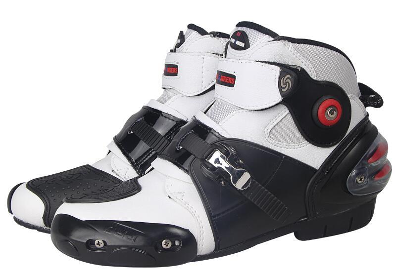 Nouvelles chaussures d'équitation de moto ridingtribu, bottes courtes, chaussures de course anti-chute, bottes de course printemps été