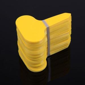 Image 2 - T etichetta Giardino Accessori Etichetta Horticultural Plastica etichetta Pianta Etichetta Tag Fiore Stereo di tipo T