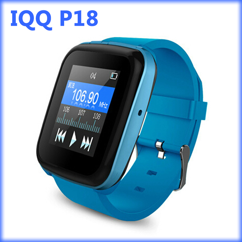 IQQ P18 watch mp3 player bluetooth with lossless recorder hifi mp3 music player radio fm mp3
