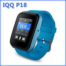 IQQ P18 reloj reproductor de mp3 bluetooth con pérdidas grabadora hifi reproductor de música mp3 radio fm reproductor de mp3 deporte mp 3