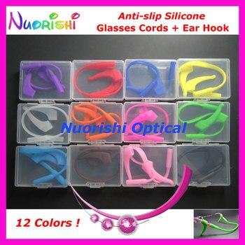 49689c8db9 1 Juego de gafas de sol antideslizantes de silicona T2510 para gafas,  cordón para gafas