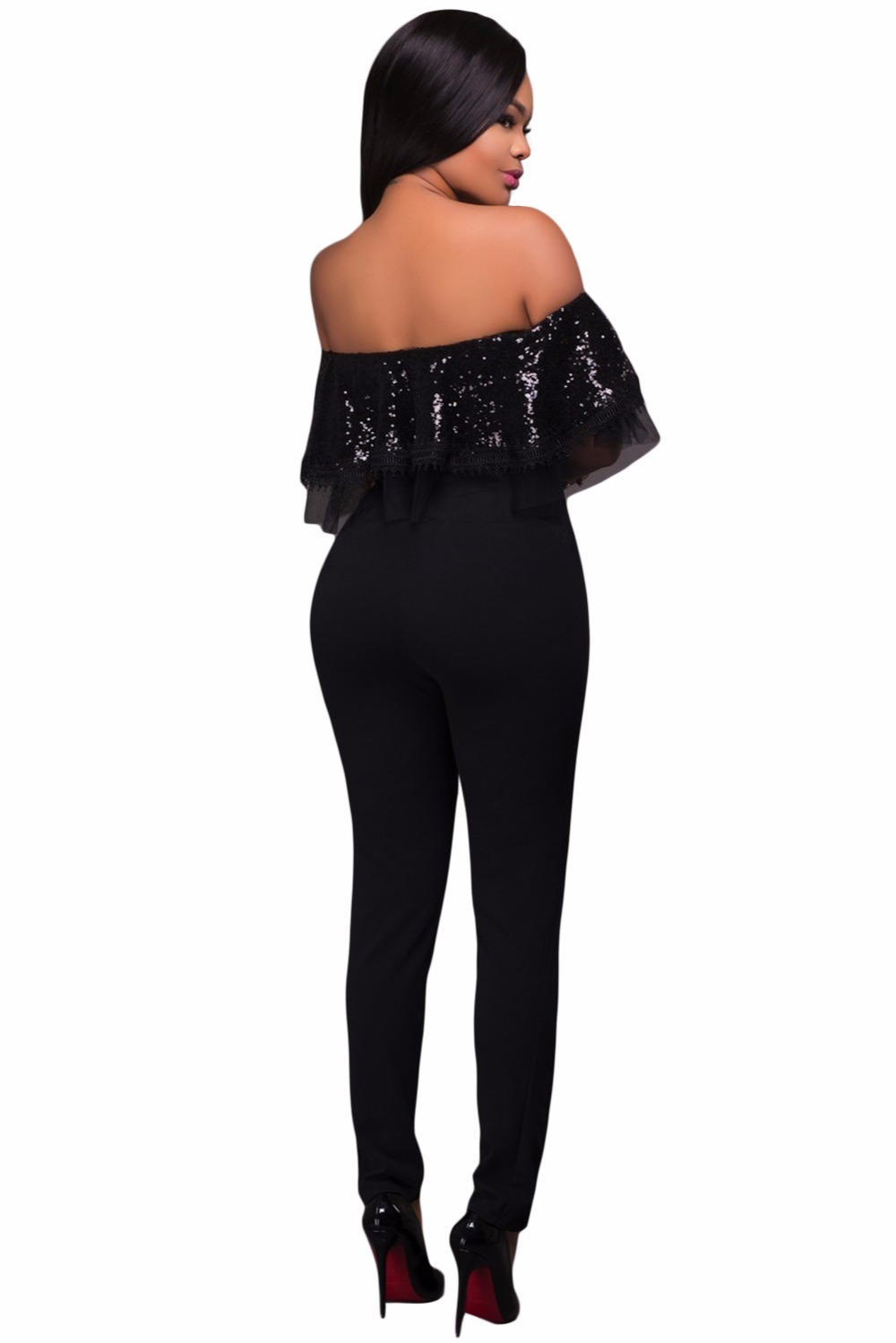 Black-Sequin-Ruffle-Top-Jumpsuit-LC64249-2-3
