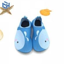 Новинка года; стильная детская обувь для плавания; домашняя обувь для малышей; детская обувь для дождливой погоды с рисунком; мягкая подошва