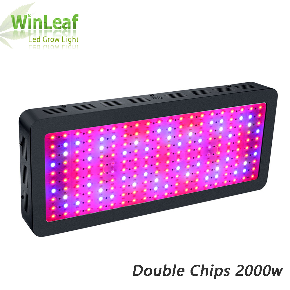 LED grow light Full Spectrum bestva Double Chips 2000W black plant grow lamp for greenhouse tent hydroponic Bloom High yield led grow light 450w greenhouse lighting plant growing led lights lamp hydroponic indoor grow tent high par value double chips