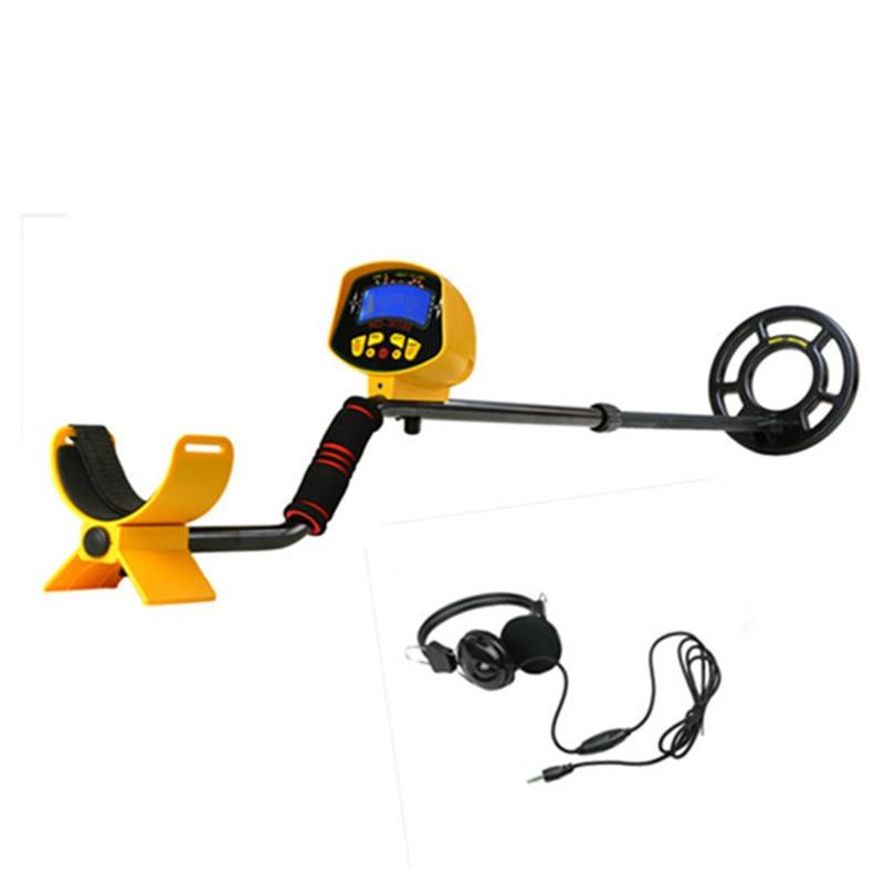 Professional Underground Metal Detector MD3010IISet Include Headphone Treasure Hunter Gold Digger High Sensitivity Seeking Tool