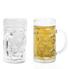 1 шт стеклянная кружка для пива 1000 мл 34 унции