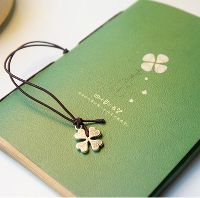 2020 Hot Sale Promotion Paper Planner Stickers 2018 Four Leaf Clover Netbook Mini Book Notepad Wordpad Note Padsyouth Record
