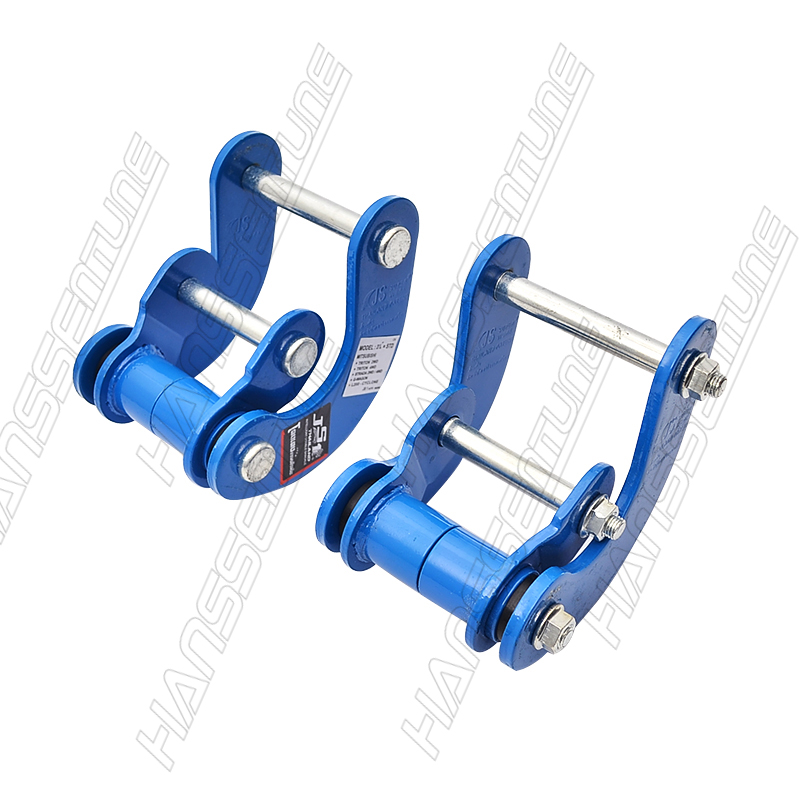 HANSSENTUNE  4x4 Suspension Spring  Rear Comfort Double G-Shackle For Mitsubishi Triton L200  09-14  Reduce The Bumpy Feeling