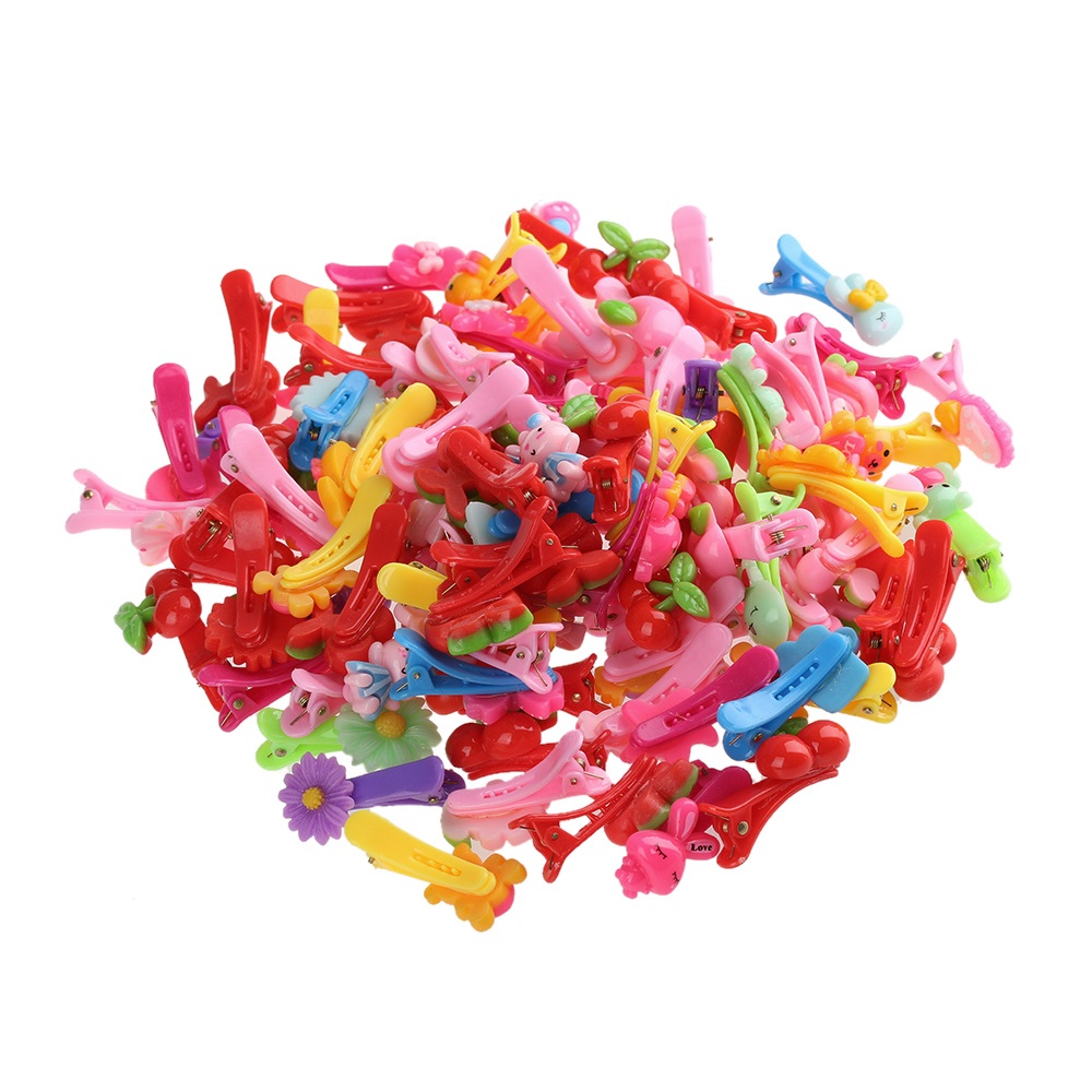 HTB1w_60RpXXXXcRXXXXq6xXFXXXg 12-Pieces Mix Colorful Fruit Flower Star Animal Fish Ribbon Heart Candy Hair Accessories For Girls