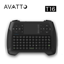 [AVATTO] English i8 G/T16 2.4G Wireless Gaming Mini keyboard with Touch Pad for Smart TV,Android Box,Raspberry Pi,Laptop,PC,PS3