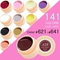 CANNI Nail Painting Gel Varnish 141 Pure Colors Gelpolish UV LED Soak Off Gel Nail Polish Color
