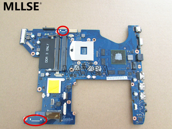 BA92-08161A mainboard For Samsung RF511 laptop motherboard 100% WORKING ! ba92 05127a ba92 05127b laptop motherboard for samsung np r60 r60 ddr2 intel ati rs600me mainboard