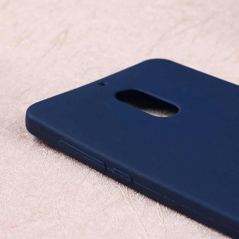 Anunob blando colores caramelo TPU funda para Nokia 6,1 6 2018 funda de silicona para Nokia 7 plus Coque Fundas parachoques Nokia6 Nokia7