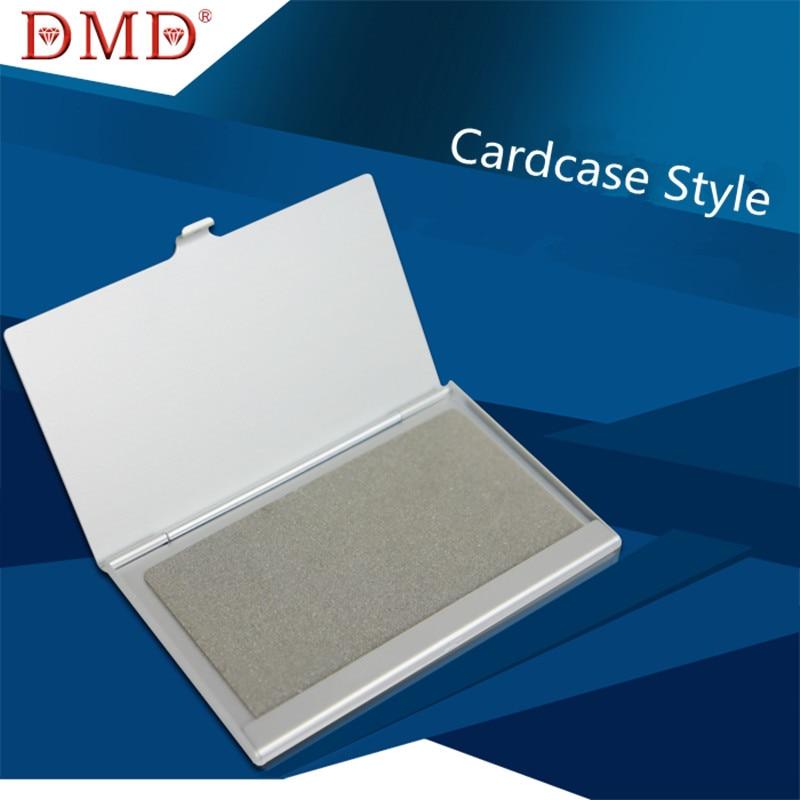 1 satz DMD Mini Outdoor Diamant Cardcase Stil Messerschärfer Schärfen Platte Tasche kostenloser versand
