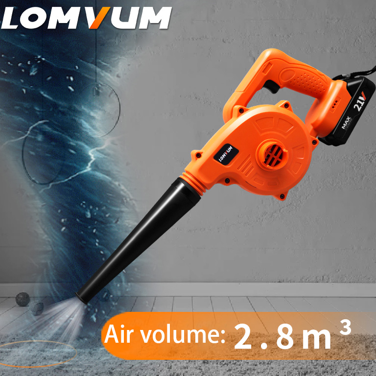 21V 19800mAh Li-ion Battery Electric Dust Blower Vacuum Cleaner For Computer Dust Cordless Portable Tools
